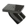 Polypipe Drain 45° Square Rodding Eye Spigot Tail 110mm Black