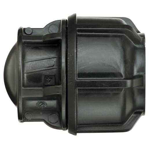 Philmac Stop End Cap 25mm Black