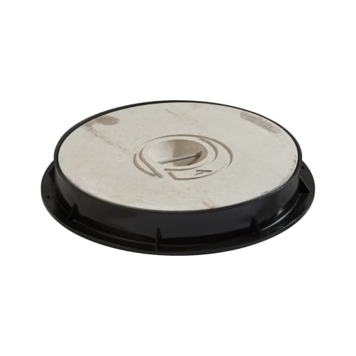 Polypipe Drain Concrete Cover and Frame 320mm Black