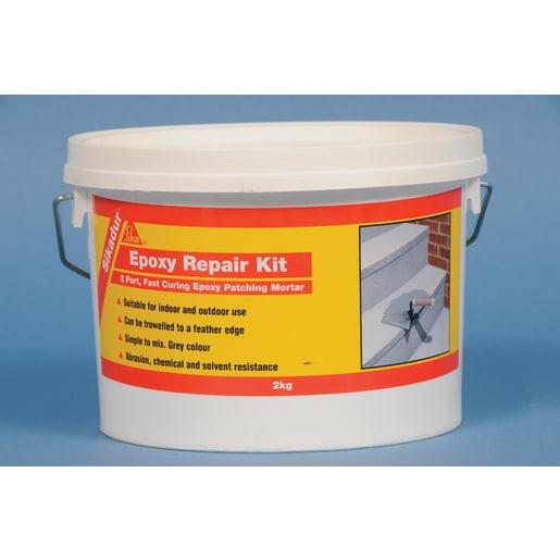 Sika Epoxy Repair Kit 2kg Grey