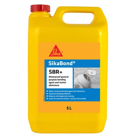 SikaBond SBR Plus Waterproof Bonding Agent and Admixture 5L