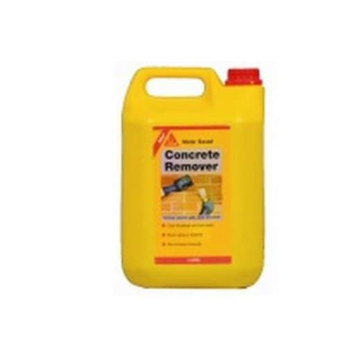 Sika Concrete Remover 5 Litres Yellow / Green