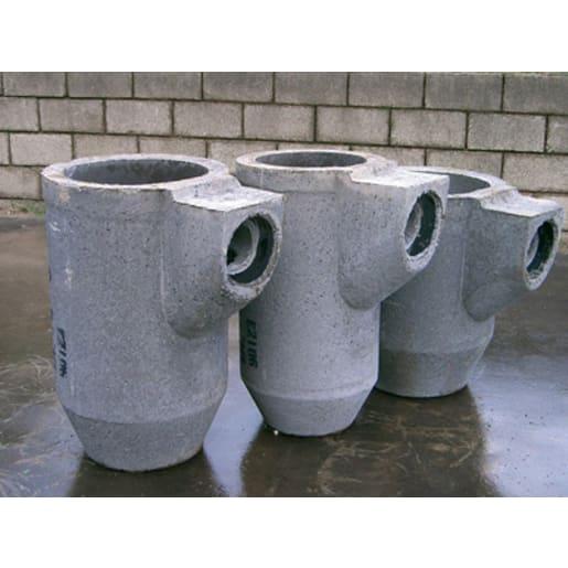 CPM Precast Concrete 70L Road Gully Trap 450 x 750 x 150mm