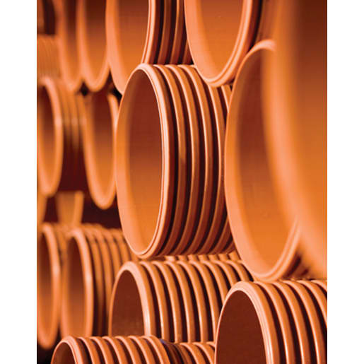 Polypipe Polysewer 30° Double Socket Bend 225mm Terracotta