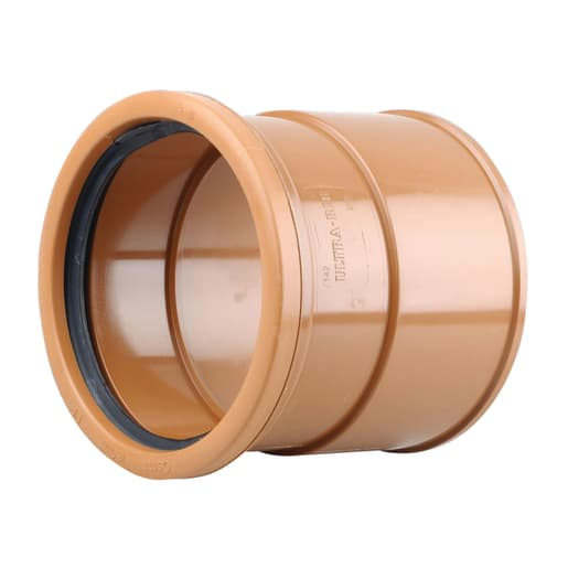 Osma UltraRib 150mm Double Socket 6UR x 160mm Spigot Adaptor 170mm