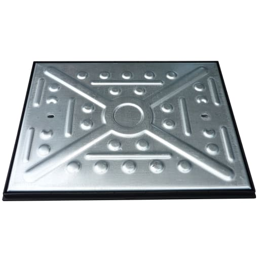 EJ Single Seal Manhole Cover and Frame 10T 600 x 450mm Galvanised