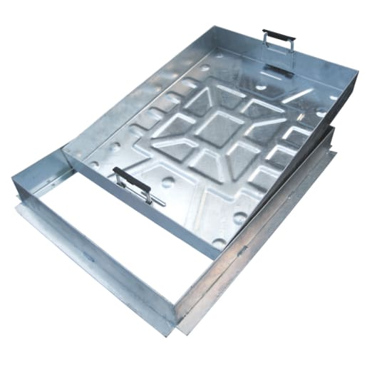 EJ External Recessed Manhole Cover and Frame 5T 600 x 600mm Galvanised