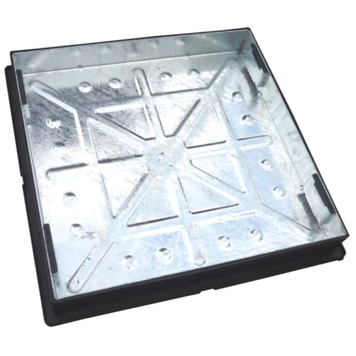 EJ External Recessed Manhole Cover and Frame 5T 600 x 450mm Galvanised