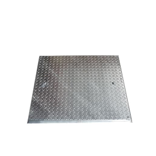 EJ GPW Solid Top Manhole Cover and Frame 10T 600 x 600mm Galvanised