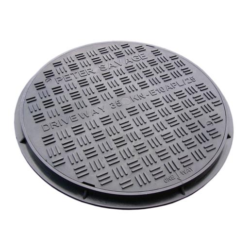 EJ Single Seal Frame Manhole Cover 450mm