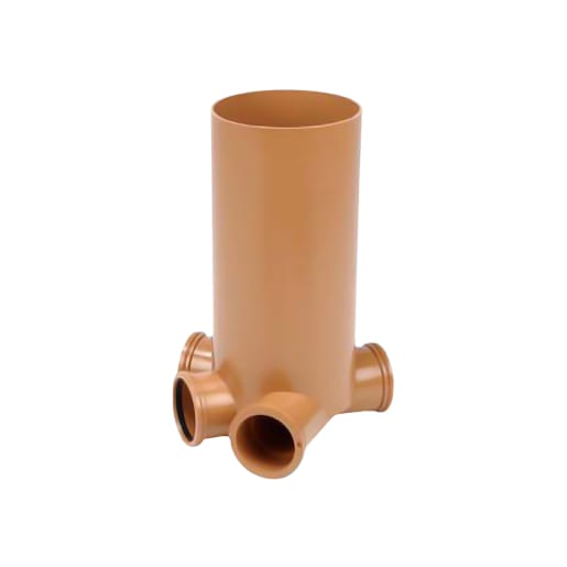 Osma Drain Shallow Inspection Chamber 250mm Brown