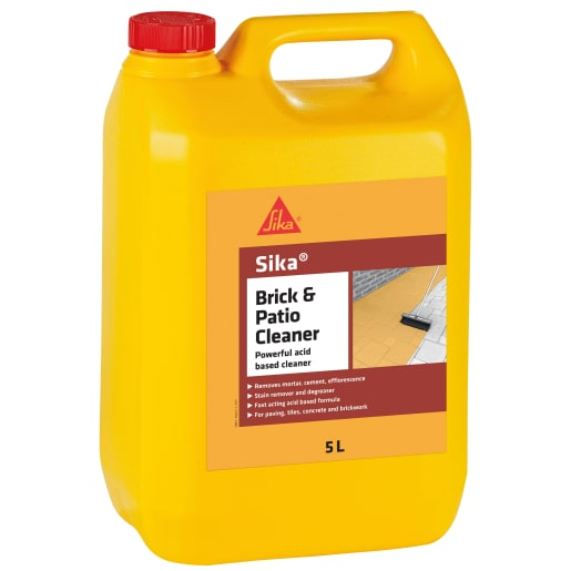 Sika Brick and Patio Cleaner 5L Clear