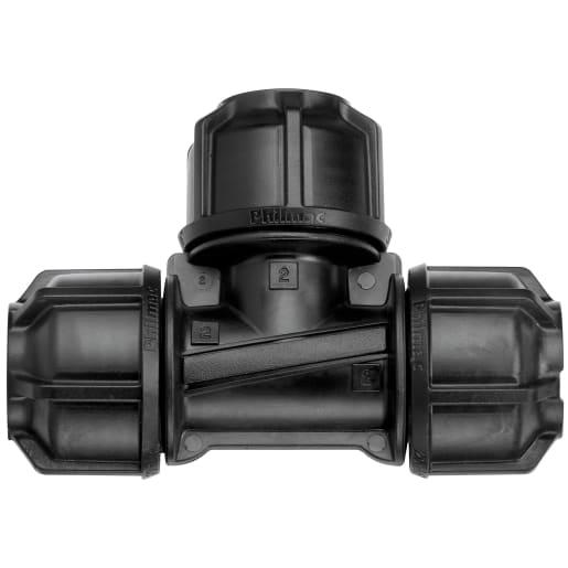Philmac Equal Tee 32mm Black
