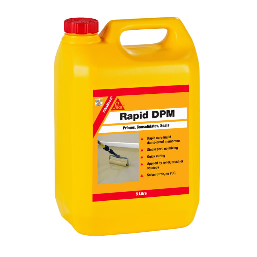 SikaBond Rapid DPM 5 Litres Brown