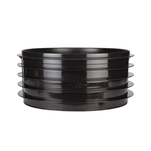 Polypipe Drain Chamber Side Riser 460mm Black
