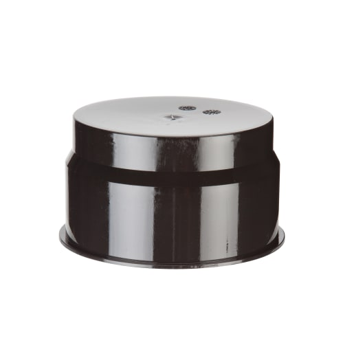 Polypipe Inspection Chamber Blanking Plug 110mm Black