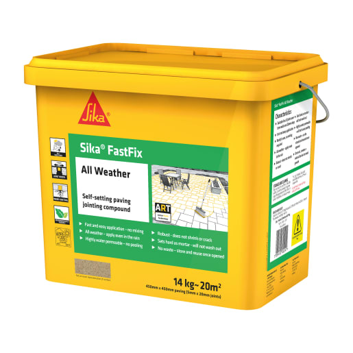 Sika FastFix All Weather Jointing Compound 15kg Buff