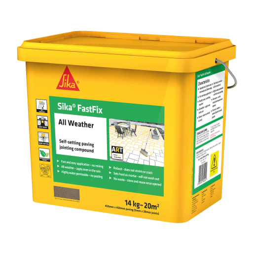 Sika FastFix All Weather Jointing Compound 14kg Grey