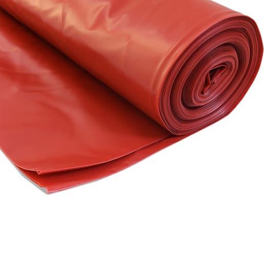 Visqueen Radon Gas Barrier Membrane 300mu 25 x 4m Red