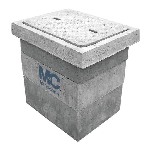 FP McCann Precast Concrete Inspection Chamber 600 x 450 x 100mm