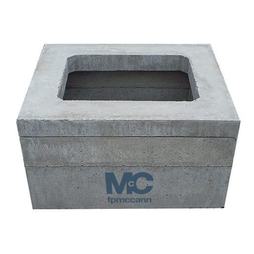 FP McCann Precast Inspection Chamber Section 1000 x 675 x 150mm