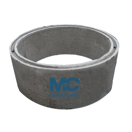 FP McCann Wide Wall Chamber Ring Double Step Irons 1200 x 500mm