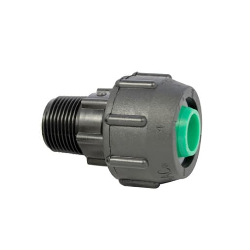 GPS Protecta End Connector PE x Male BSP 32mm x 1