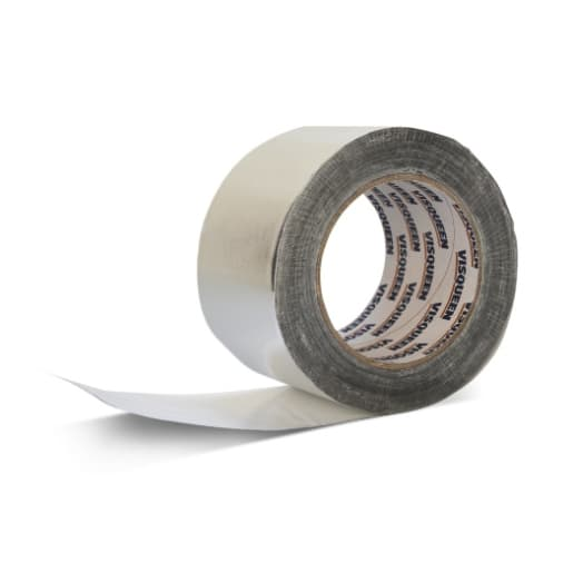 Visqueen Foil Back Girth Jointing Tape 50m x 75mm Silver