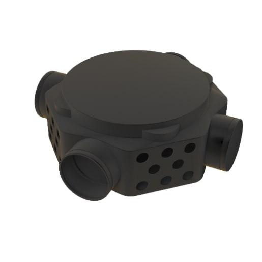 Visqueen Radon Sump Unit Black