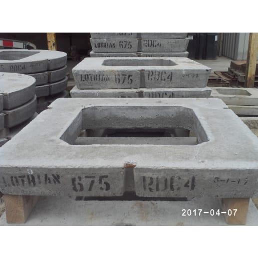 CPM Precast Manhole Seating Slab 'Lothian' 600 x 600 x 150mm