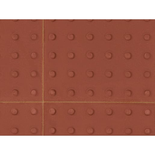 Marshalls Tactile Blister Paving 400 x 400 x 50mm Red