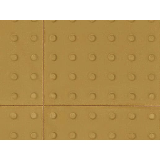 Marshalls Tactile Blister Paving 400 x 400 x 50mm Buff