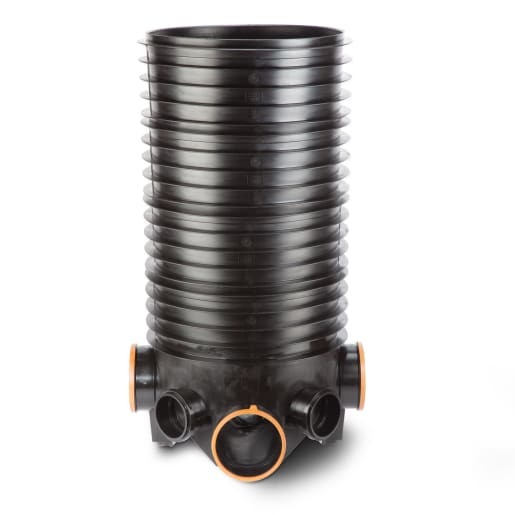 Polypipe Drain Deep Inspection Chamber 460mm 4 Risers