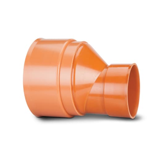 Polypipe Polysewer Level Invert Reducer 225mm x 150mm Terracotta