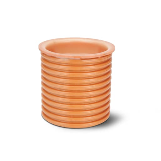 Polypipe Polysewer Socket Plug 150mm Terracotta