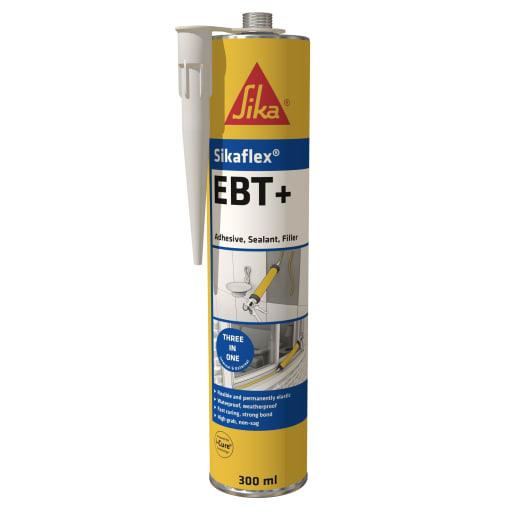 Sikaflex EBT Plus Adhesive Sealant Filler 300ml Clear
