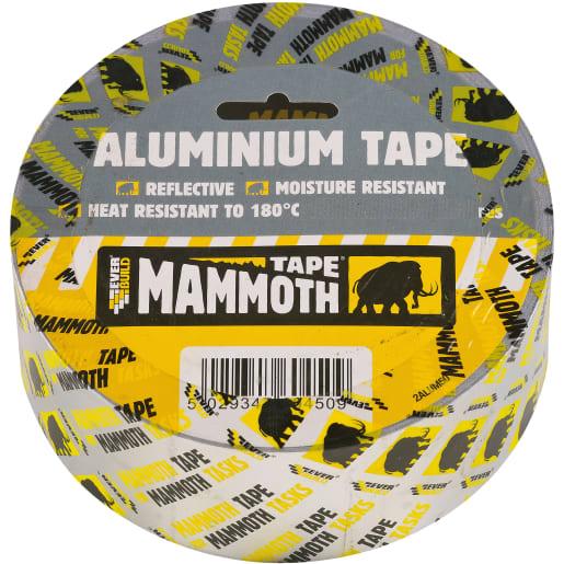 Everbuild Aluminium Tape 45M x 75mm Silver