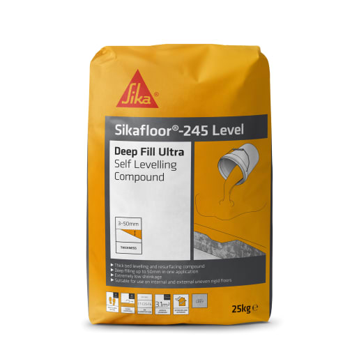 Sika Level Deep Fill Leveling 25kg