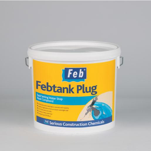 Everbuild Feb Waterplug 5kg