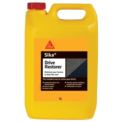 Sika Drive Restorer Tarmac Paint 5 Litres Black