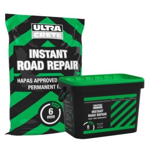UltraCrete Instant Road Repair 6mm 25kg Black