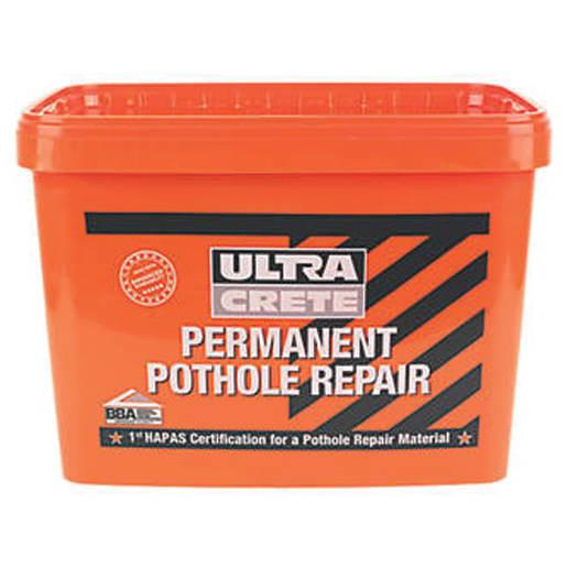 UltraCrete Permanent Pothole Repair 25kg Black