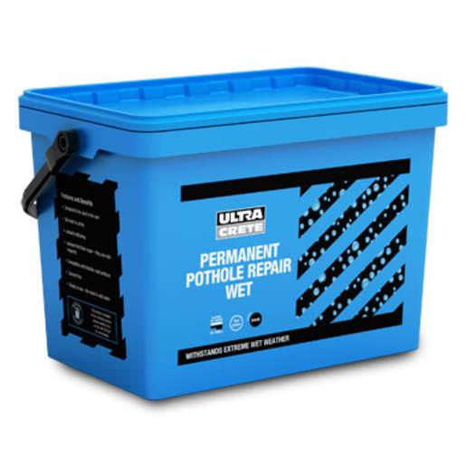 UltraCrete Permanent Pothole Repair Wet 25kg Black