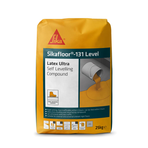 Sika Level 30 Latex Ultra Levelling Compound 25kg Grey