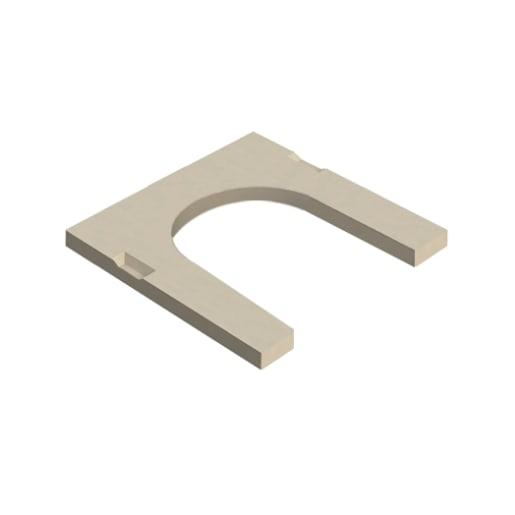 Stanton Bonna U Shaped Gully Access Slab 450mm