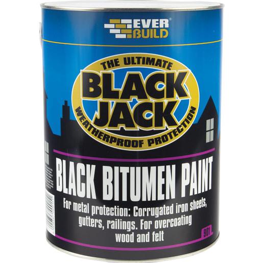 Everbuild 901 Black Jack Bitumen Paint  25 Litre