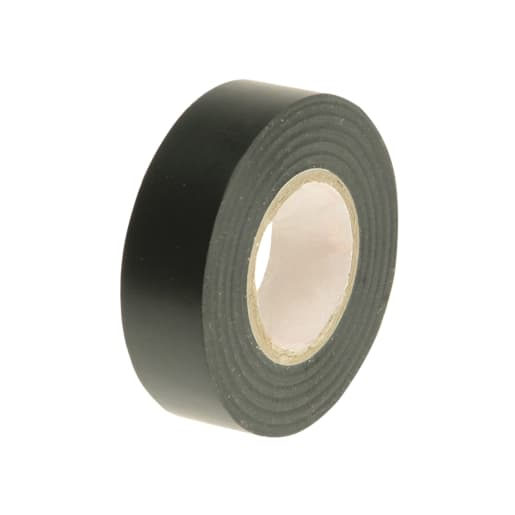 Faithfull PVC Electrical Tape 20m x 19mm Black