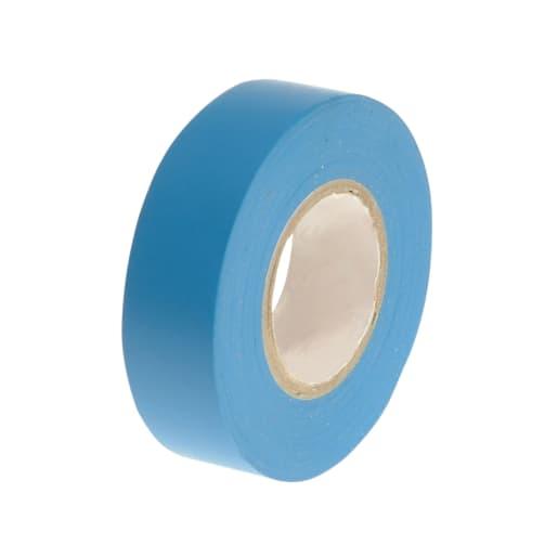 Faithfull PVC Electrical Tape 20m x 19mm Blue
