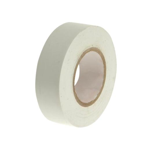 Faithfull PVC Electrical Tape 20m x 19mm White