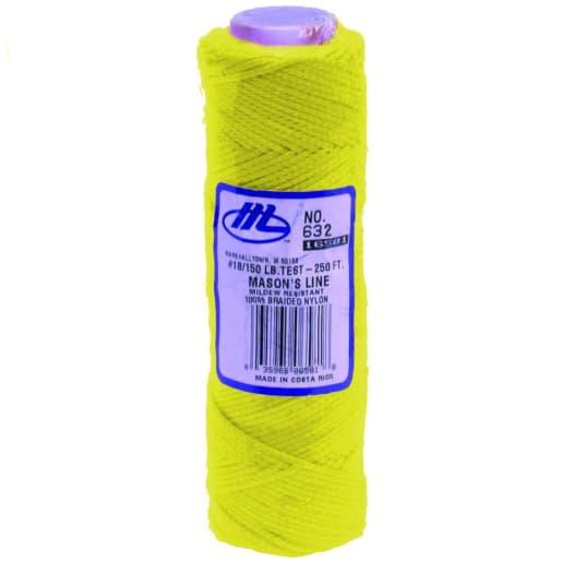 Marshalltown Masons Line 250ft Fluorescent Yellow